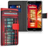 Wallet Case Hülle Huawei P10 Lite Telefon London
