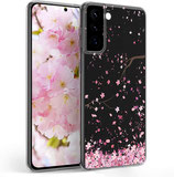 TPU Case Samsung Galaxy S21 Plus Kirschblütenblätter