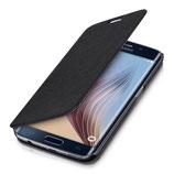 Flip Cover Samsung Galaxy S6 Edge Schwarz