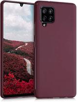 TPU Case Hülle Samsung Galaxy A42 Tawny Red