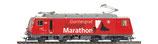 Bemo 1362 294 MGB HGe 4/4 II 104 Werbelok 'Gornergrat Zermatt Marathon' DIGITAL