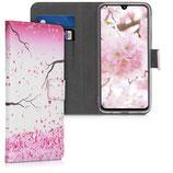 Wallet Case Samsung Galaxy A40 Kirschblüten