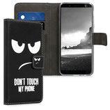 Wallet Case Samsung Galaxy J6 Dont Touch