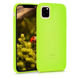Case Hülle Apple iPhone 11 Pro Neon Gelb