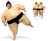 Aufblasbares Kostüm Fatsuit Sumo Ringer Fasching Karneval