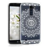 Crystal Case Hülle LG K10 LTE Blume