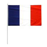 2x Frankreich Stab Fahne WM 2014 30x45cm