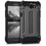 Hybrid Case Samsung Galaxy J3 2017 Anthrazit Schwarz