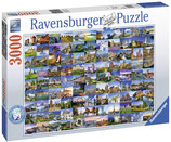 Ravensburger 17080 99 Beautiful Places