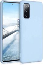 TPU Case Samsung Galaxy S20 FE Pastellblau