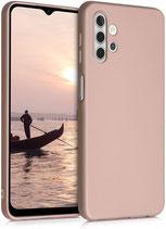 TPU Case Hülle Samsung Galaxy A32 Mettalic Rosegold