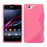 Case S-Line Sony Xperia Z1 Compact Pink