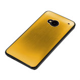 HARD CASE COVER FÜR HTC ONE M7 GOLD