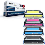 4x Toner HP 643A HP Color LaserJet