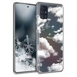 TPU Case Samsung Galaxy A51 Wolken