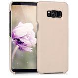Softcase Hülle Samsung Galaxy S8 Beige