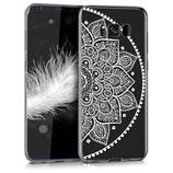 Crystal Case Samsung Galaxy S8+ Halbblume