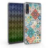 TPU Case Hülle Samsung Galaxy A50 Mosaik