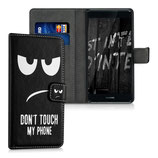 Wallet Case Huawei P9 Plus Dont touch