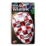 Fanmaske Maske Fahne Kroatien WM 2014
