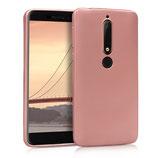 TPU Case Hülle Nokia 6.1 (2018) Rosegold