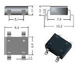 10 Stück SMD Brückengleichrichter E482