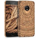 Kork Case Motorola Moto G5 Plus Sonne