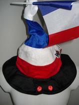Frankreich-Hut m Sound beweglich EM 2016