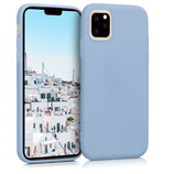 TPU Case Hülle Apple iPhone 11 Hellblau