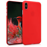 TPU Case Hülle Apple iPhone XS Max Rot