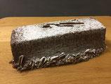 Cake lang met chocolade