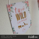 """Wimpel """"Two Wild"""""""