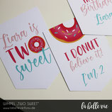 """Wimpel """"TWO SWEET"""""""