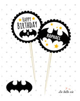 """12 Topper """"Batman"""""""