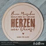 """Holzschild graviert """"Erzieher"""" 20 cm"""