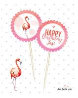 "12 Topper ""Flamingo"""