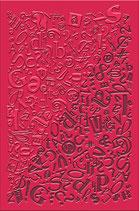 1.9.  Strukturform - Sammelsurium von Buchstaben, Briefen