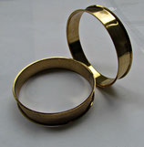Metall Armreif - Alt Goldfarbe