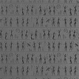 MGT - Mega Texture Tile - Anzient People Fineline - Menschen aus der Urzeit (riesig)