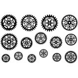 Filigree Gears 1 - Jewel Stamps