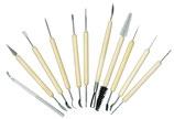 Set 11 Teilig Modellierwerkzeug