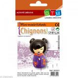 Kokeshi Mold - Chignons