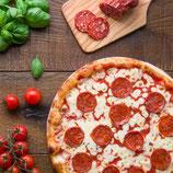 Pizza Salamino Piccante  360 gr x 2 Pezzi