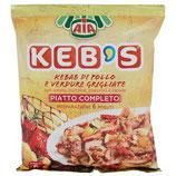 Kebab di Pollo e Verdure