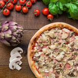 Pizza Capricciosa  360 gr x 2 Pezzi