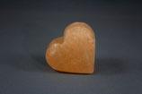 Salzpeelingstein Herzform