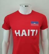 Haiti Shirt - Rood (verzenden)