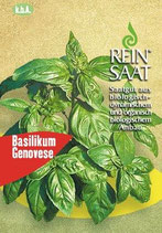 Basilikum 'Genovese' (Bio-Saatgut, AT-BIO-301)