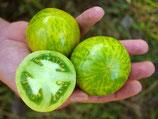 Salattomate 'Green Zebra' (Bio-Saatgut, DE-ÖKO-039)