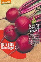 Rote Bete 'Rote Kugel 2' (Bio-Saatgut, AT-BIO-301)